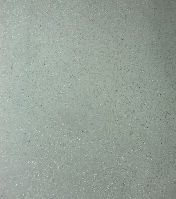 "Glitterbug Organza Fabric 58""-White Glitter"