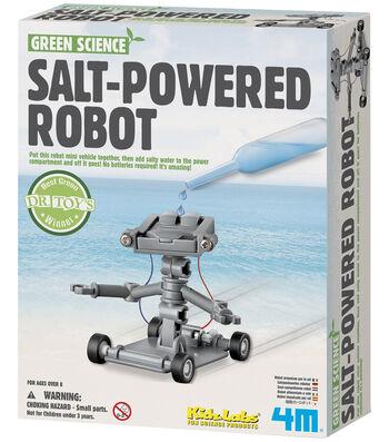 Salt Water Power Robot