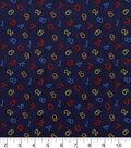 Nursery Cotton Fabric 43\u0022-Bright 123 Tossed