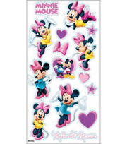EK Success Disney Classic Sticker-Minnie Mouse, , hi-res