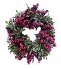 Blooming Holiday 12\u0027\u0027 Berry Eucalyptus Wreath-Red
