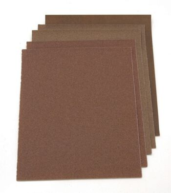"Darice Assorted Sandpaper 9"" x11"" 5/pkg"