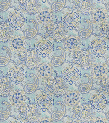 "SMC Designs Upholstery Fabric 54""-Buster/Lagoon"