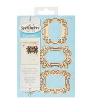 Spellbinders® Shapeabilities® 3 Pack Etched Die-Treasured Tags, , hi-res