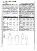 Mccall Pattern V8687 Ff (16-18--Vogue Pattern