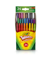 Crayola 24ct Mini Twist, , hi-res