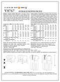 Mccall Pattern V8767 Bb (8-10-1-Vogue Pattern