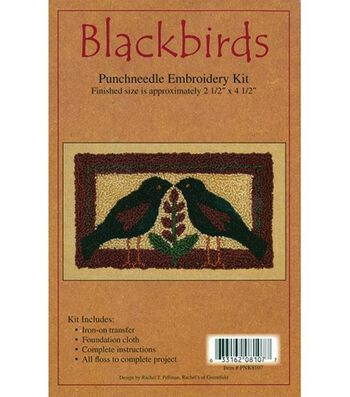 Rachel's of Greenfield Punch Needle Kit Blackbirds