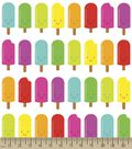 Popsicle Smiles Print Fabric