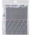 Stampers Anonymous Tim Holtz Cling Stamp-Sparkle & Christmas