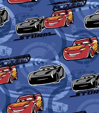 "Disney® Cars 3 Flannel Fabric 42""-Lightning McQueen"