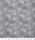 Keepsake Calico™ Cotton Fabric 43\u0022-Floral Gray