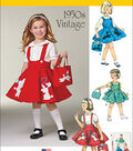 Simplicity Patterns Us1075A-Simplicity Child\u0027S Jumper, Skirt And Bag-3-4-5-6-7-8