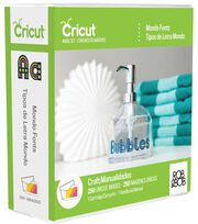 Cricut® Cartridge Mondo Fonts, , hi-res