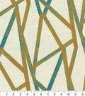 Genevieve Gorder Multi-Purpose Decor Fabric 54\u0027\u0027-Peacock Intersections