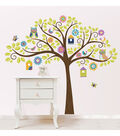 Wall Pops Owl Tree Wall Art Decal Kit, 142 Piece Set