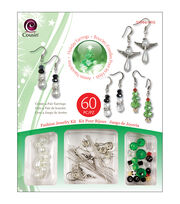 Christmas Trinket Bead Kit-Earrings, , hi-res