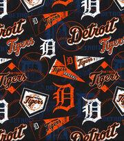 """Detroit Tigers Cotton Fabric 58""""-Vintage, , hi-res"""