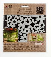 FolkArt® Painting Stencils - Small - Ditsy Floral, , hi-res