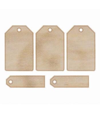 Wood Flourishes-Tags 5/Pkg