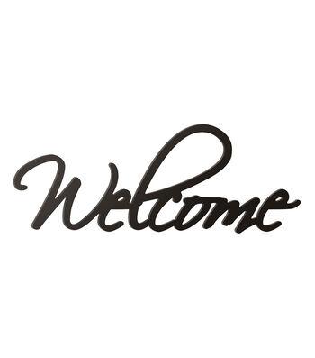 Porch Décor Word Wall Decor-Welcome