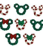 Dress It Up Disney Wreath & Canes Licensed Embellishments, , hi-res