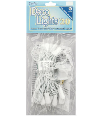 Darice® 20ct 8' Deco Lights