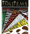 Fold \u0027Ems Origami Paper-24PK/Animal Prints