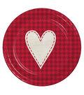 Valentine\u0027s Day Pack of 8 7\u0027\u0027 Paper Lunch Plates