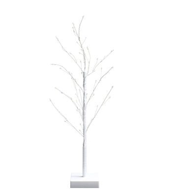 Easter 24'' Starry Light Twig Tree-White