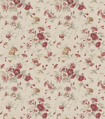 "Waverly Upholstery Fabric 54""-Fairhaven Rose"