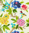 Waverly Lightweight Decor Fabric 54\u0022-Candid Moment/Gardenia