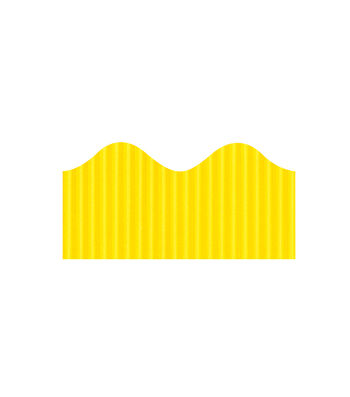 Busy Kids Learning Bordette Corrugated Border-Canary