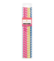 Buttercream™ Olivia Collection Trendy Party Straws, , hi-res