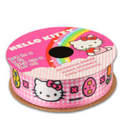 Hello Kitty® Easter Ribbon-Pink White Plaid, , hi-res