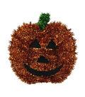Maker\u0027s Halloween Tinsel Jack O Lantern
