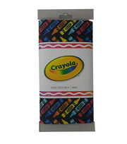 Riley Blake© Crayola® Fabric 1yd Cut-Crayon Herringbone Black, , hi-res