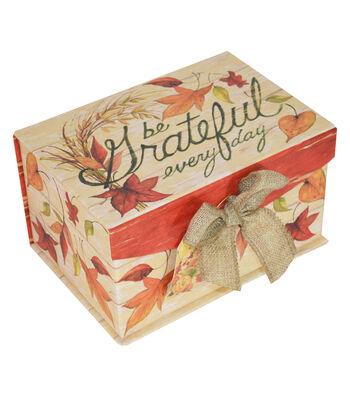 Organizing Essentials™ Harvest Small Fliptop-Be Grateful Everyday