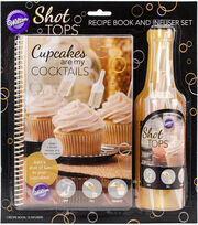 Wilton® Cupcake Recipe Book & Infuser Combo Pack, , hi-res