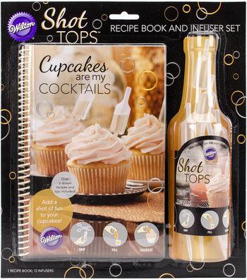Wilton® Cupcake Recipe Book & Infuser Combo Pack