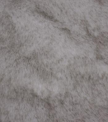 "Fashion Faux Fur Fabric 57""-Eskimo Cream Brown"