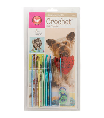 Boye I Taught Myself To Crochet Pet Clothes Kits