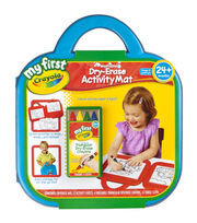 My First Crayola Washable Dry-Erase Activity Mat, , hi-res