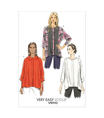 Vogue Patterns Misses Top-V9110