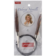 Deborah Norville Fixed Circular Needles 40'' Size 17/12.0mm, , hi-res