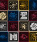 Game Of Thrones Cotton Fabric 43\u0022-House Sigils