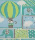 Nursery Fleece Fabric 59\u0027\u0027-Adventure Patch