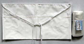 Wear'm™ Waist Apron Value Pack White