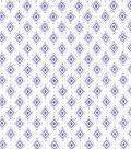 Wide Flannel Fabric 108\u0022-Purple Diamond