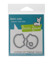 Lawn Fawn Lawn Cuts Custom Craft Die -Hedgehugs, , hi-res